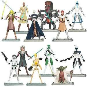 Star Wars Clone Wars Action Figures Wave 3 Revision 1 Toys & Games