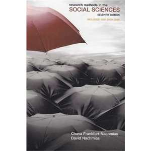 Research Methods in the Social Sciences w/Data Bank CD