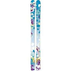 Salomon Mai Tai Skis Blue Green/Purple: Sports & Outdoors