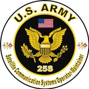 United States Army MOS 25S Satellite Communication Systems
