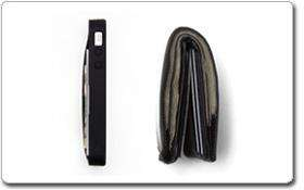 Wallet Card Case for iPhone 4/4s   1 Pack   Retail Packaging   Black