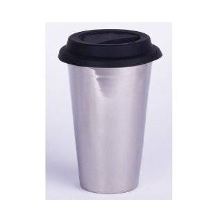 Eco Cup w/ Silicone Lid & Sleeve Coffee Tea i am not a paper cup look