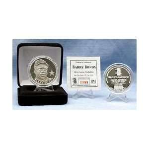 San Francisco Giants Barry Bonds Silver Medallion