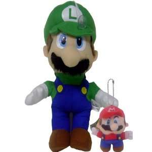 New Super Mario Bros. Liugi Plush Doll Bonus Keychain