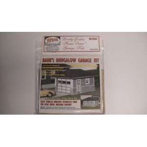 740 Ho/187 Scale Kates Colonial Garage Kit New in Pkg. Toys & Games