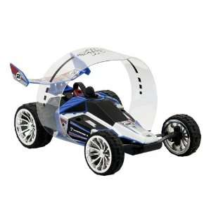 Air Hogs R/C Hyper Actives Stunt Vehicle [Blue] Toys & Games