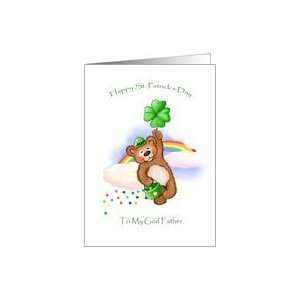 Spreading Some Irish Cheer St Patricks Day Traditional Paper Greeting