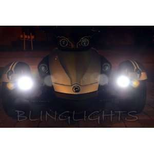 Can Am Spyder Roadster Trike White LED Fog Lights Kit