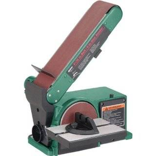 31 695 6 Inch/9 Inch 1HP Open Stand Belt/Disc Sander