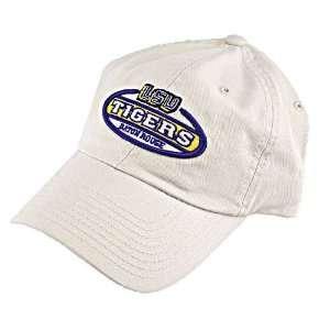LSU Tigers Khaki Vintage Oval Hat