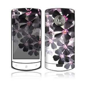 LG Optimus 7 Skin Decal Sticker   Asian Flower Paint