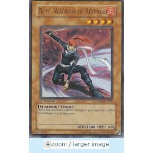 Yu Gi Oh!   Rose, Warrior of Revenge (Ultra Rare