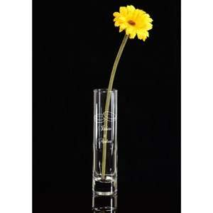Personalized Wedding Rings Glass Vase: Home & Kitchen