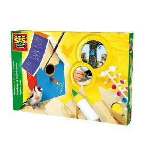 SES Creative Make Your Own Wooden Birdhouse Kit Toys & Games