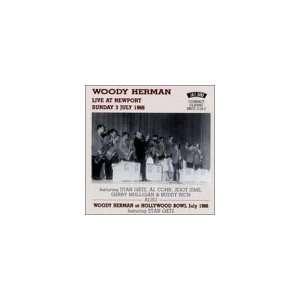 Live at Newport & At Hollywood Bowl Woody Herman, Stan Getz Music