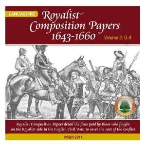 Papers 1643 1660, Lancashire Surnames G H v. 3 (9781847275653) Books