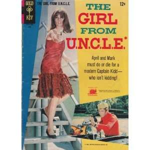 Girl From U.N.C.L.E. #3 Back Issue Comic Book (Jun 1967) Very Good