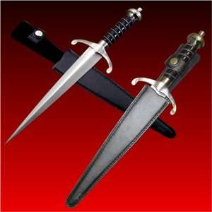 for Vendetta Dagger with Belt Loop Leather Sheath