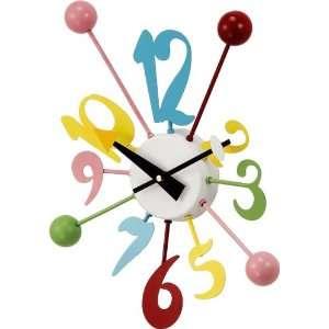 Wacky Color Balls Wall Clock Nursery Daycare Kids Room