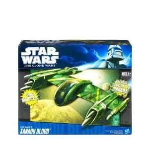 Star Wars Clone Wars Starfighter Vehicle Xanadu Blood Toys & Games