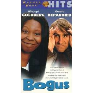 Bogus [VHS] Whoopi Goldberg, Gérard Depardieu, Haley