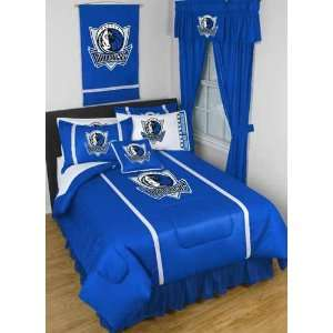 Dallas Mavericks SIDELINES Jersey Material Comforter   Full / Queen