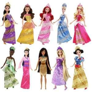 Disney Sparkling Princess Collection (10 Dolls) Toys