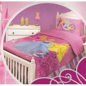 Princess Castle Dreams Twin Comforter Sheet and Pillowcase
