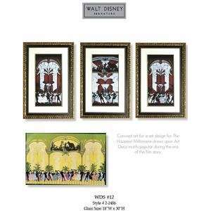 Walt Disney Signature Art Collection ~ The Happiest Millionaire