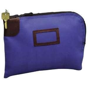PM Company   Nylon Night Deposit Bag, Cobalt Blue Office Products