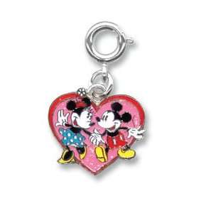 Mickey & Minnie Mouse Heart Dancing Charm