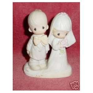 Enesco Jonathan & David Figurine Bride & Groom Everything