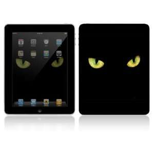 Apple iPad Decal Vinyl Sticker Skin   Cat Eyes