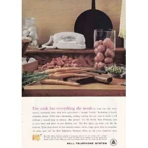 Bell Telephone Cook Has Everything She Needs Bell Telephone Books