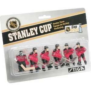 Stiga New Jersey Devils Table Rod Hockey Players Sports