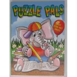 Puzzle Pals Puzzle Book   Elephant Toys & Games