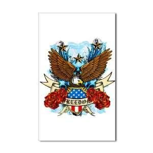 ) Freedom Eagle Emblem with United States Flag
