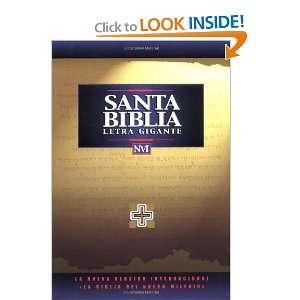 NVI Santa Bíblia Letra Gigante Imit Negro (9780829723991