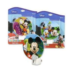 Mickey Mouse and Friends Clubhouse Night Light for Children, Kids and