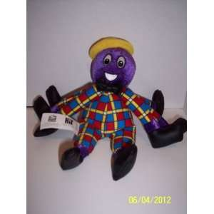 2003 Wiggles Henry the Octopus Bean Bag 9 Inches