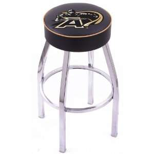 United States Military Academy Steel Stool with 4 Logo Seat and L8C1