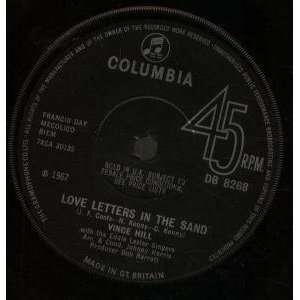 LOVE LETTERS IN THE SAND 7 INCH (7 VINYL 45) UK COLUMBIA 1967