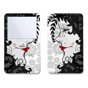 Night Lady Design Skin Decal Sticker for Apple iPod video