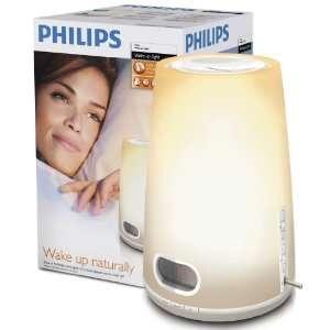Philips HF3470 Wake Up Light Alarm Clock With LCD Display And Digital