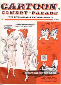 Cartoon Parade #16 good girl comedy humor BILL WARD 63