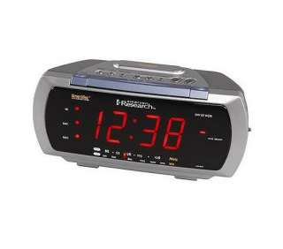 emerson projection alarm clock The emerson smartset digital clock radio displays the time and and wakes you up in the morning the smartset features an automatic time-setting system, a large.