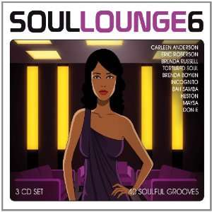 Soul Lounge, Vol. 6 40 Soulful Grooves Various Artists .co.uk