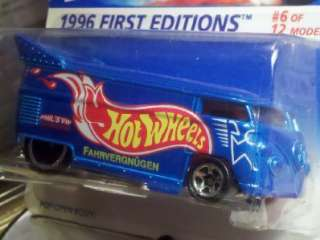 HOT WHEELS 1996 VW VOLKSWAGEN DRAG BUS FIRST EDITION LIMITED HUNT LIKE