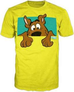 Scooby Doo Peek Youth T Shirt Classic Cartoons Official