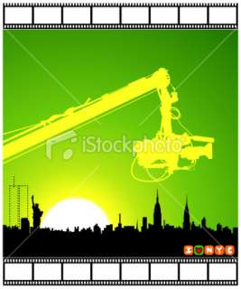 City Film Festival ( Vector ) Royalty Free Stock Vector Art